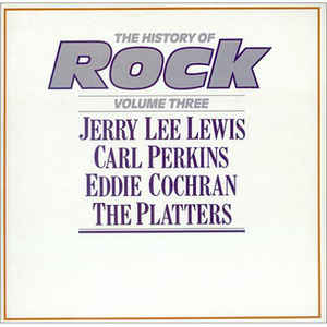 vinyl 2LP LEWIS, PERKINS, COCHRAN PLATTERS The History Of Rock Vol. 3