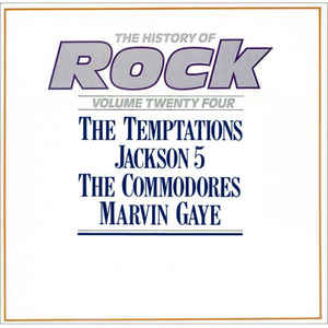 vinyl 2LP TEMPTATIONS, JACKSON 5, COMMODORES, GAYE The History Of Rock Vol. 24