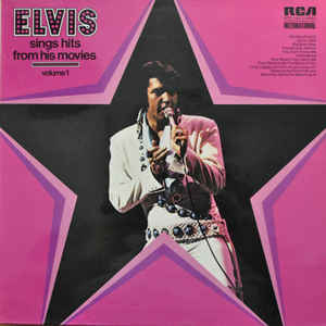 vinyl LP ELVIS PRESLEY Sings Hits From His Movies Vol. 1