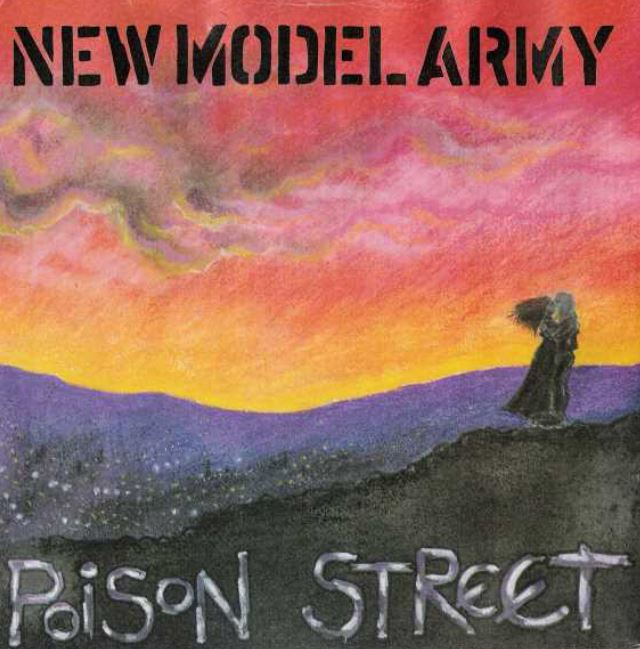 "vinyl 7""SP  NEW MODEL ARMY Poison Street/Courage"