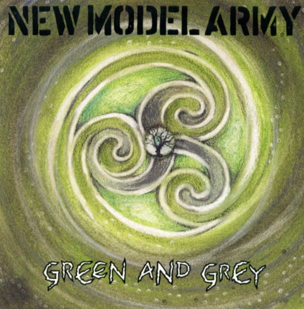 "vinyl 7""SP  NEW MODEL ARMY Green and Grey/The Charge(Live)"