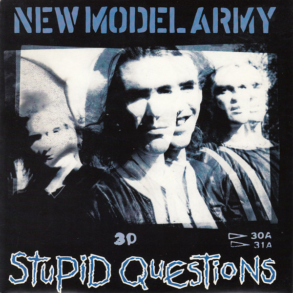 "vinyl 7""SP NEW MODEL ARMY Stupid Questions/Nothing Touches"