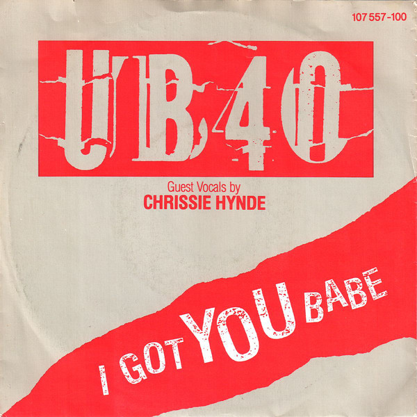 "vinyl 7""SP UB40 I Got You Babe/Theme From Labour Of Love"