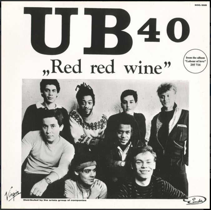 "vinyl 7""SP UB40 Red Red Wine/Sufferin´(I Want People)"