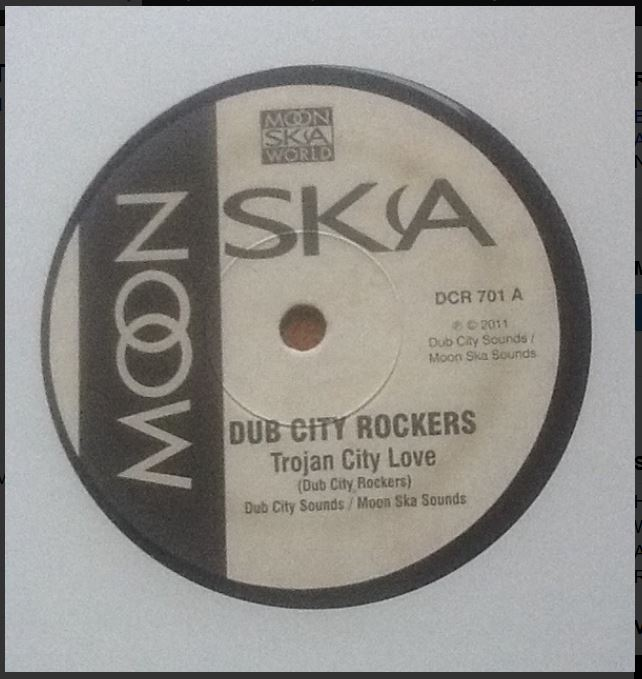 "vinyl 7""SP DUB CITY ROCKERS Trojan City Love/It´s A Crime"