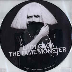 vinyl LP LADY GAGA Fame Monster