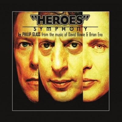 vinyl LP PHILIP GLASS / DAVID BOWIE / BRIAN ENO Heroes Symphony