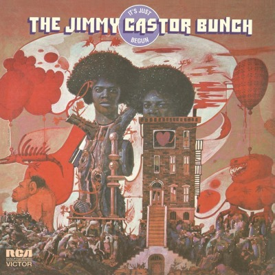 vinyl LP JIMMY CASTOR It´s Just Begun