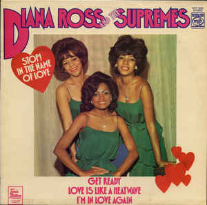 vinyl LP DIANA ROSS And The Supremes Stop! In The Name Of Love