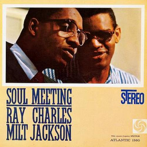 vinyl LP RAY CHARLES with MILT JACKSON Soul Brothers