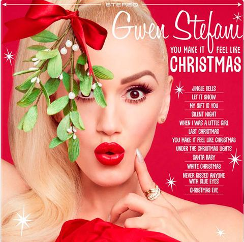 vinyl LP GWEN STEFANI You Make It Feel Like Christmas