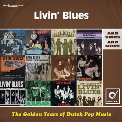 vinyl 2LP LIVIN BLUES (The Golden Years Of Dutch Pop Music)