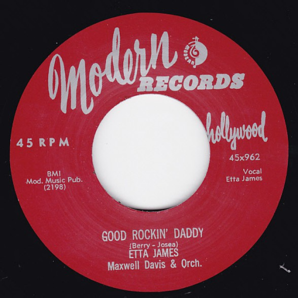 "vinyl 7""SP ETTA JAMES Good Rockin' Daddy"