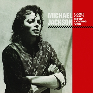 "vinyl 7""SP MICHAEL JACKSON Just Can't Stop Loving You"