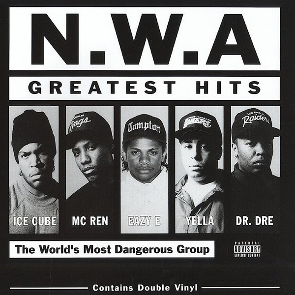 vinyl 2LP N.W.A Greatest Hits