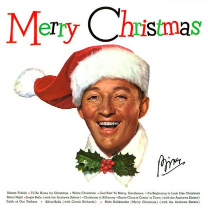vinyl LP BING CROSBY Merry Christmas