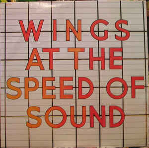 vinyl LP WINGS Wings At The Speed Of Sound