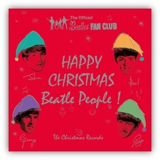 "vinyl 7x7"" SP BEATLES Christmas Records"