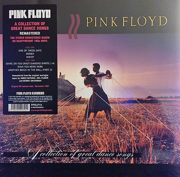 vinyl LP PINK FLOYD A COLLECTION OF GREAT DANCE SONGS