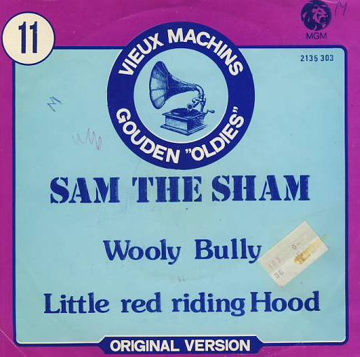 "vinyl 7""SP SAM THE SHAM Wooly Bully"