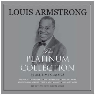 vinyl 3LP LOUIS ARMSTRONG Platinum Collection