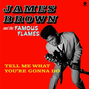 vinyl LP JAMES BROWN Tell Me What You're Gonna Do