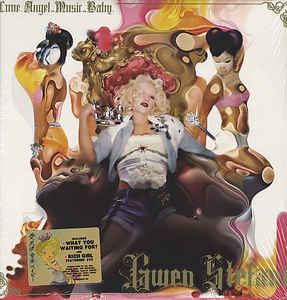vinyl 2LP GWEN STEFANI Love.Angel.Music.Baby