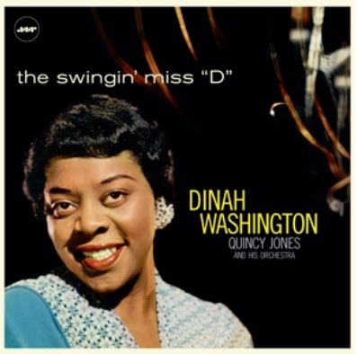 "vinyl LP DINAH WASHINGTON/QUINCY JONES and His Orchestra The Swingn´Miss ""D"""