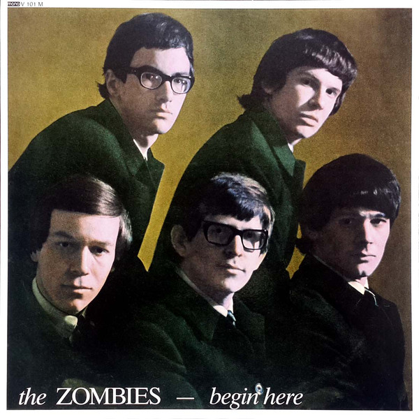 vinyl LP THE ZOMBIES Begin Here