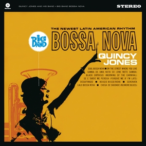 vinyl LP QUINCY JONES Big Band Bossa Nova