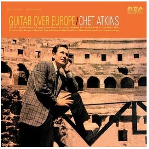 vinyl LP CHET ATKINS Guitar Over Europe