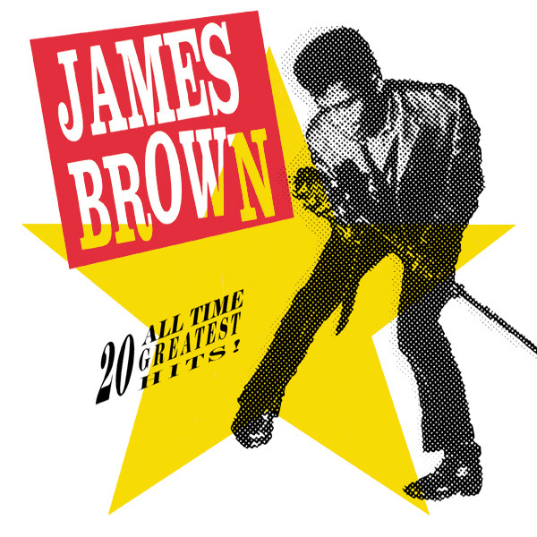 vinyl 2LP JAMES BROWN 20 All Time Greatest Hits!