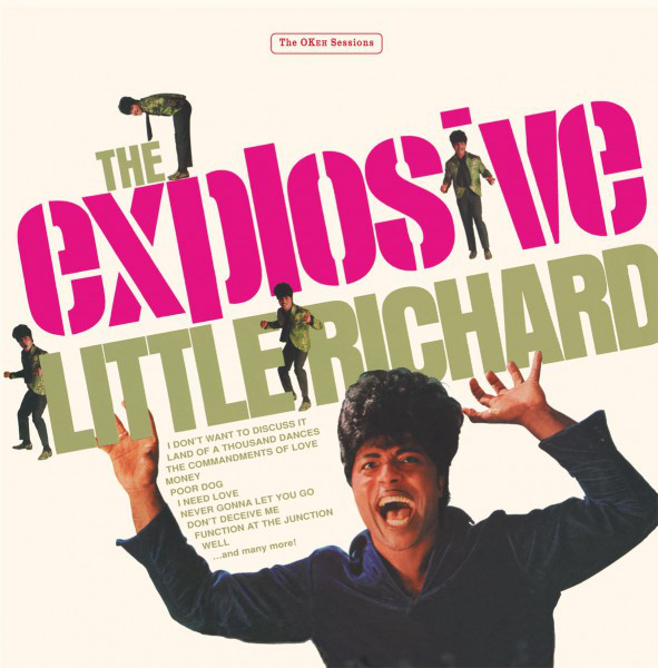 vinyl 2LP LITTLE RICHRAD The Explosive Little Richard
