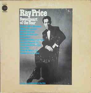 vinyl LP RAY PRICE Sweetheart of the Year