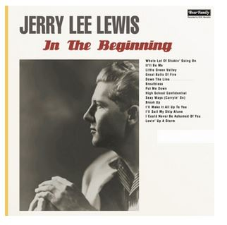vinyl LP JERRY LEE LEWIS In The Beginning
