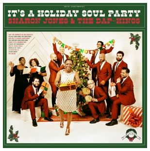 vinyl LP SHARON JONES and THE DAP-KINGS It's a Holiday Soul Party