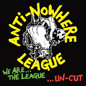 vinyl LP ANTI-NOWHERE LEAGUE We Are the League...Uncut