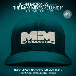 vinyl 2LP JOHN MORALES M&M Mixes Vol.4 Part 1