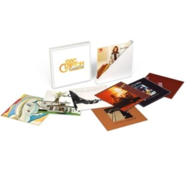 vinyl 9LP zberateľský box ERIC CLAPTON Studio Album Collection 1970 - 1981