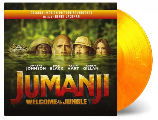 vinyl 2LP JUMANJI WELCOME TO THE JUNGLE (soundtrack)
