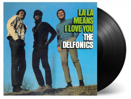 vinyl LP THE DELFONICS La La Means I Love You
