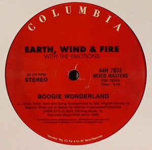 "vinyl 12"" maxi SP EARTH, WIND & FIRE Boogie Wonderland"