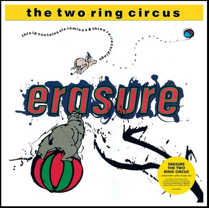 vinyl 2LP ERASURE  RSD - THE TWO RING CIRCUS