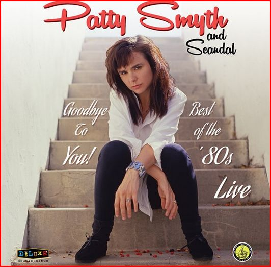 vinyl 2LP PATTY SMYTH & SCANDAL GOODBYE TO YOU: LIVE IN THE 80´ -COLOURED-