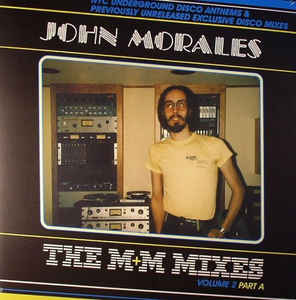 vinyl 2LP JOHN MORALES M&M Mixes Vol.2 Part A