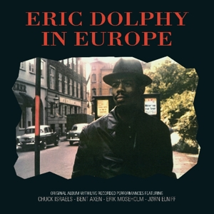 vinyl LP ERIC DOLPHY In Europe