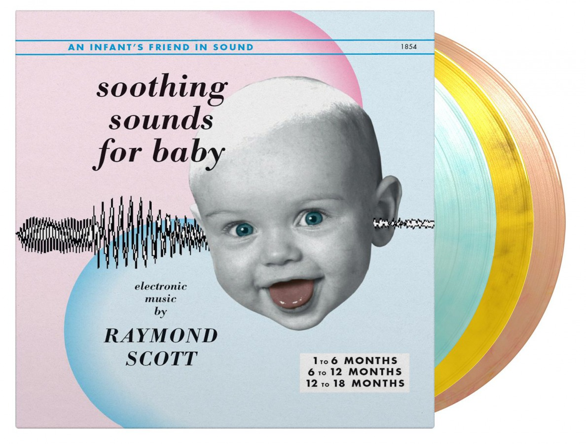 vinyl 3LP RAYMOND SCOTT SOOTHING SOUNDS FOR BABY, VOL. 1-3