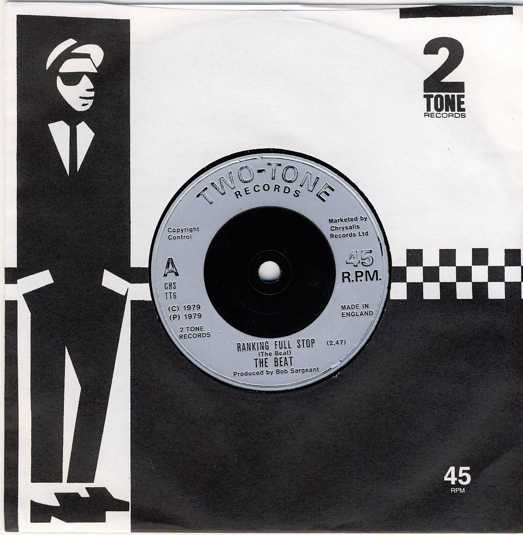"7""SP THE BEAT - Ranking Full Stop/paper label"