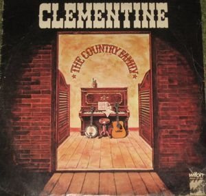 vinyl LP THE COUNTRY FAMILY Clementine