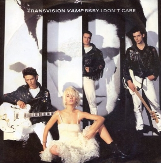 "vinyl 7""SP TRANSVISION VAMP Baby I Don´t Care"